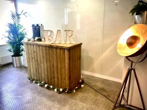 Corporate Bar Set Up Drinks Reception in London